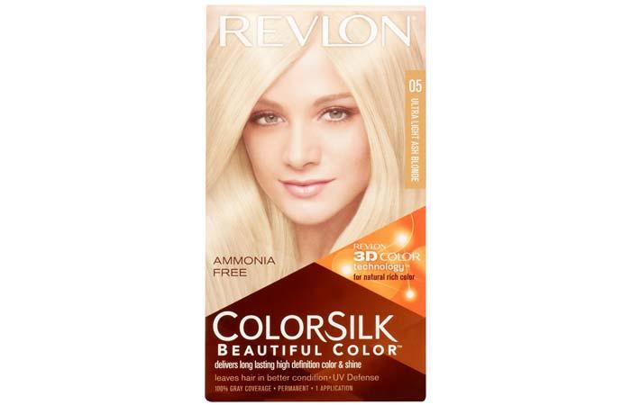 2.Revlon ColorSilk – Ultra Light Ash Blonde