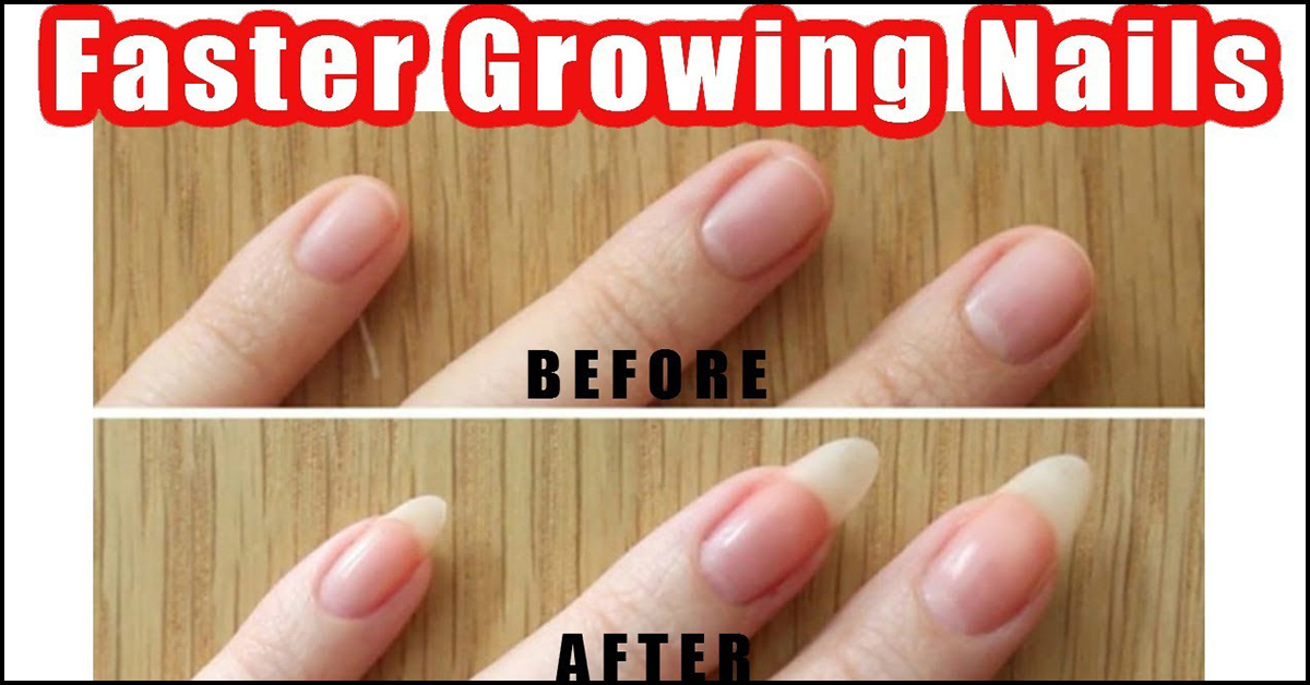 How to make your fingernails long and strong