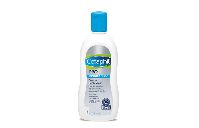 3. Cetaphil PRO Restoraderm Skin Restoring Body Wash