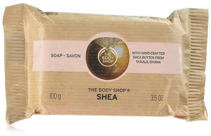 3. The Body Shop Shea Soap