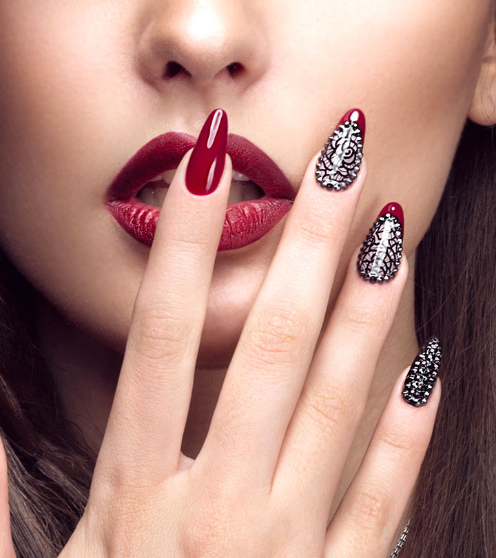 30 Nail Art Designs To Take Your Nails The Next Dimension Esha Saxena Stylecraze