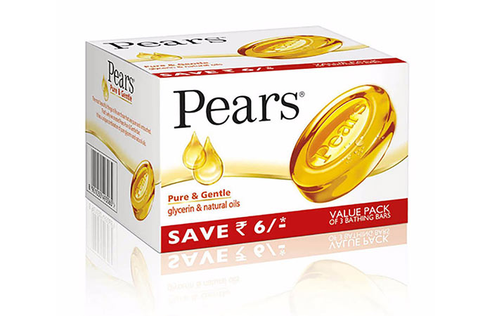 4. Pears Pure And Gentle Soap