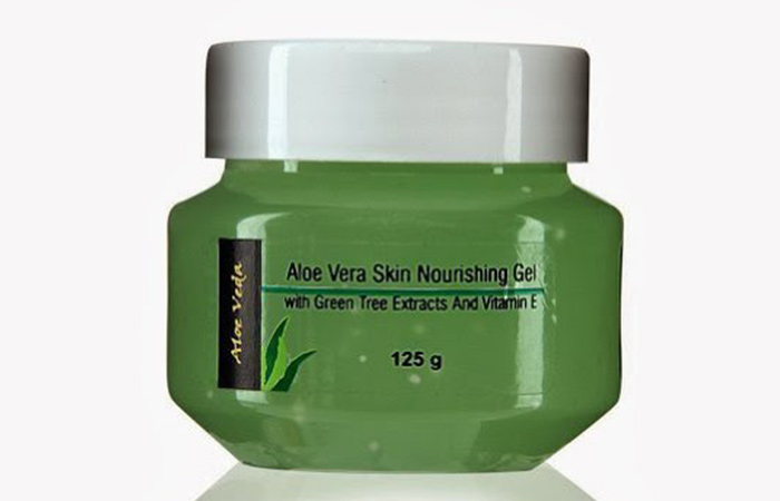 4. Aloe Veda Nourishing Aloe Vera Gel