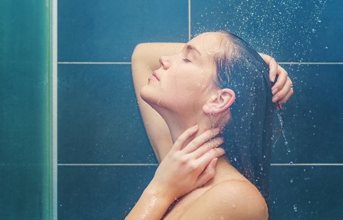 4. Shower With Warm Water