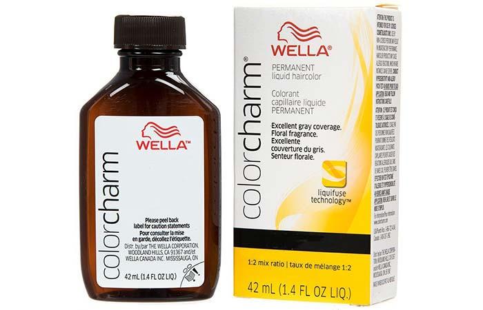 4. Wella Professionals Color Charm Permanent Liquid Color – Light Beige Blonde