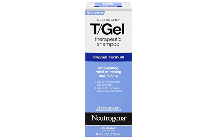 5. Neutrogena T Gel Therapeutic Shampoo