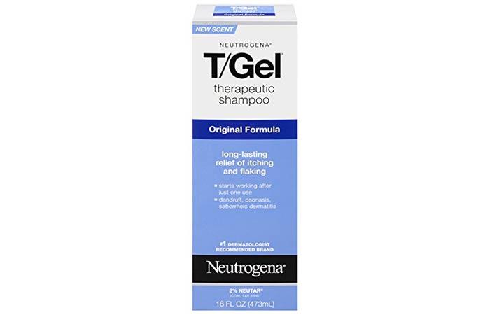 5. Neutrogena T Gel Therapeutic Shampoo