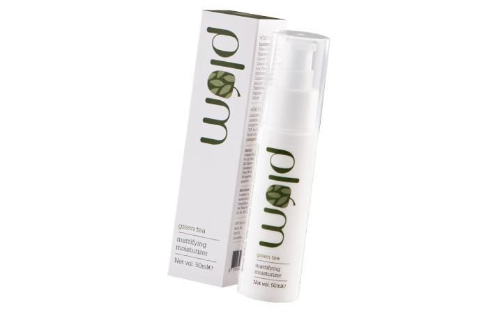 Moisturizers For Oily Skin - Plum Green Tea Mattifying Moisturizer