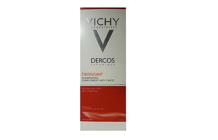 5. Vichy Dercos Energizing Anti Hair loss Shampoo