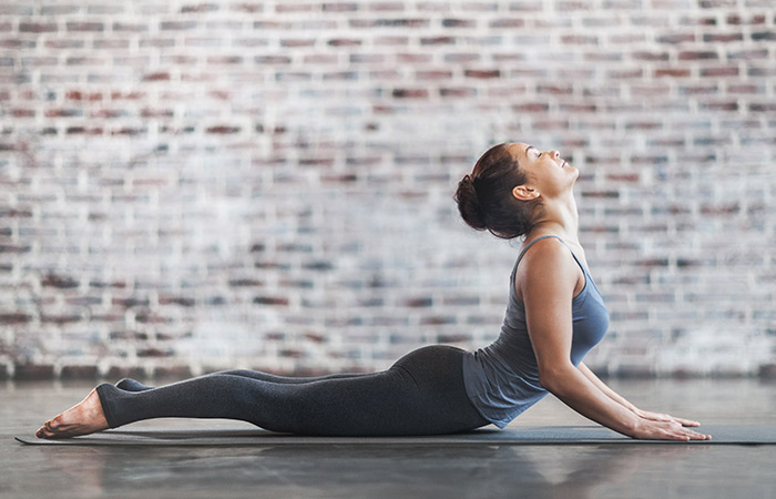 Bhujangasana - Yoga for Skin Problems