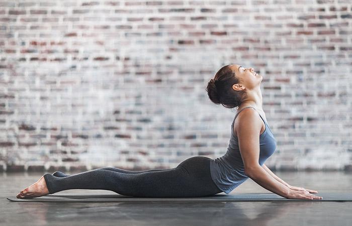 Bhujangasana - Yoga for Skin Problems