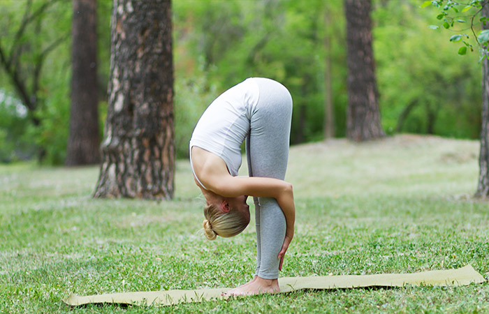 Uttanasana - Yoga for Skin Problems