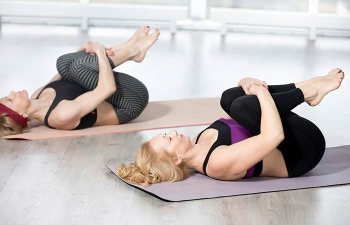 Pawanmuktasana - Yoga for Skin Problems