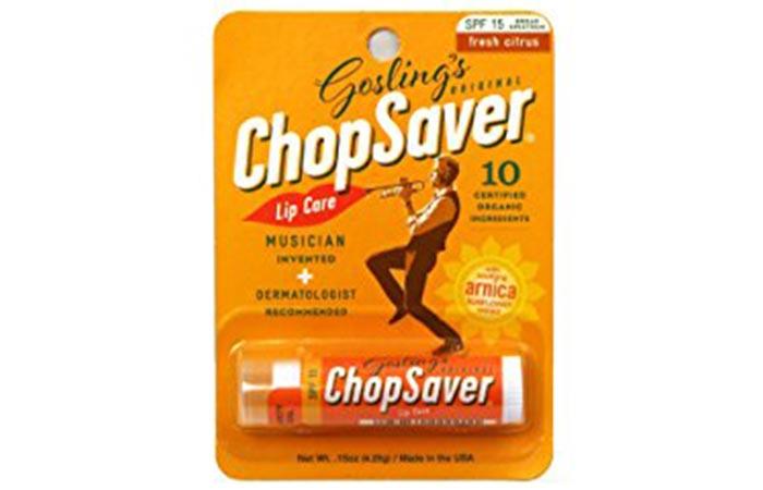 6. Gosling's Original Chop-Saver Lip Balm SPF 15