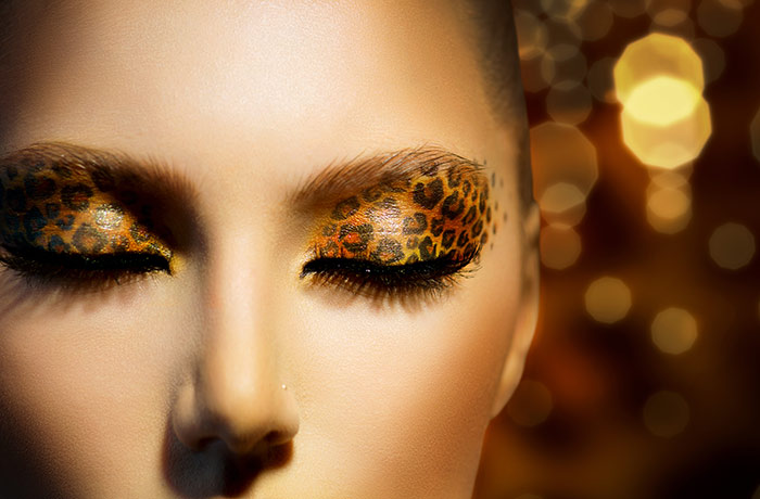 Beautiful Eye Makeup Pics - Leopard Eye Look