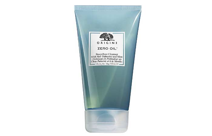 6. Origins Zero Oil Deep Pore Cleanser