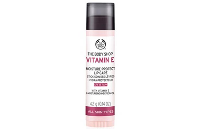 6. The Body Shop Vitamin E Moisture-Protect Lip Care