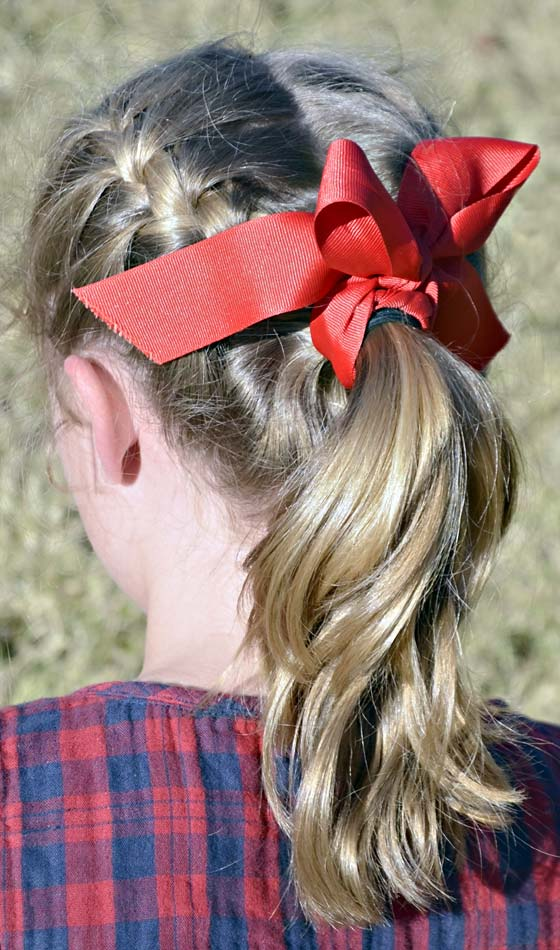 6.Braided-Pony-Tail