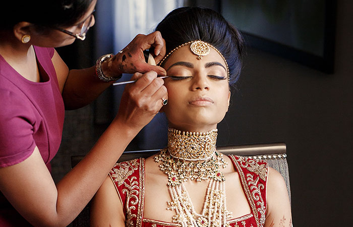 Outstanding 60 Best Indian Bridal Makeup Tips For Your Wedding Hairstyles For Women Draintrainus