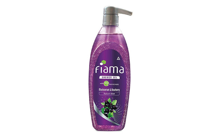 7. Fiama Di Wills Blackcurrant And Bearberry Shower Gel.,