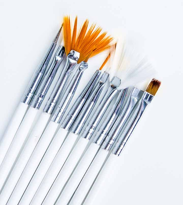 7 Types Of Nail Art Brushes 3496
