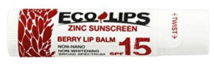 7. Eco Lips Zinc Sunscreen SPF 15