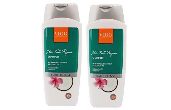 7. VLCC Natural Sciences Hibiscus and Coconut Oil Hair Fall Repair Shampoo