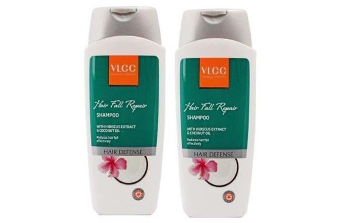 7. VLCC Natural Sciences Hibiscus and Coconut Oil Hair Fall Repair Shampoo
