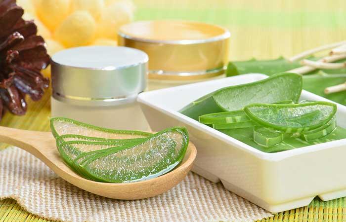 8. Aloe Vera For Peeling Skin