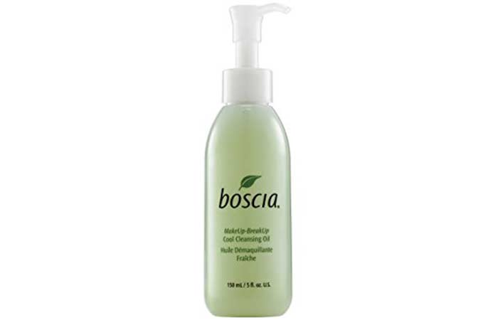 8. Boscia Cool Cleansing Oil