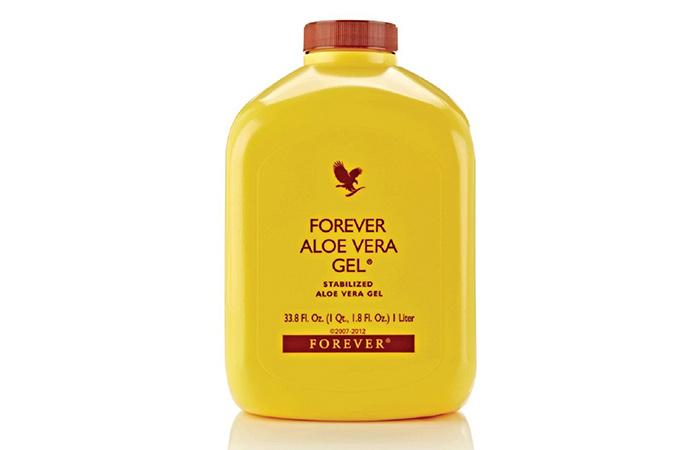 8. Forever Aloe Vera Gel