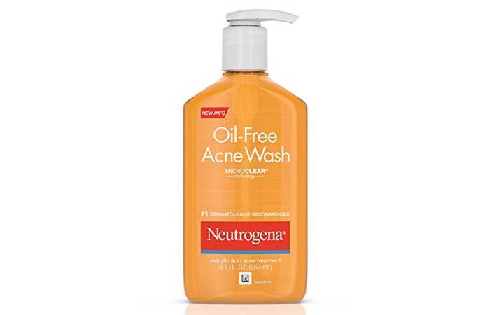 8. Neutrogena Oil-Free Acne Wash