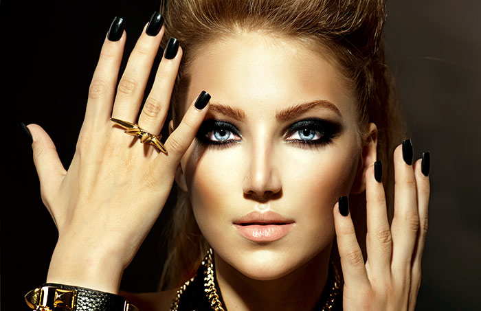 Sexy Eye Makeup Pics - Rocker Eye Look