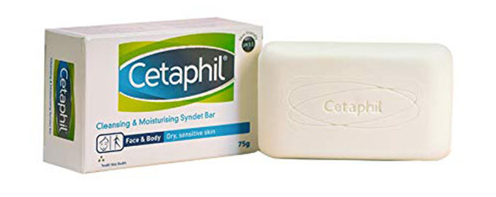 9. Cetaphil Cleansing & Moisturising Syndet Bar