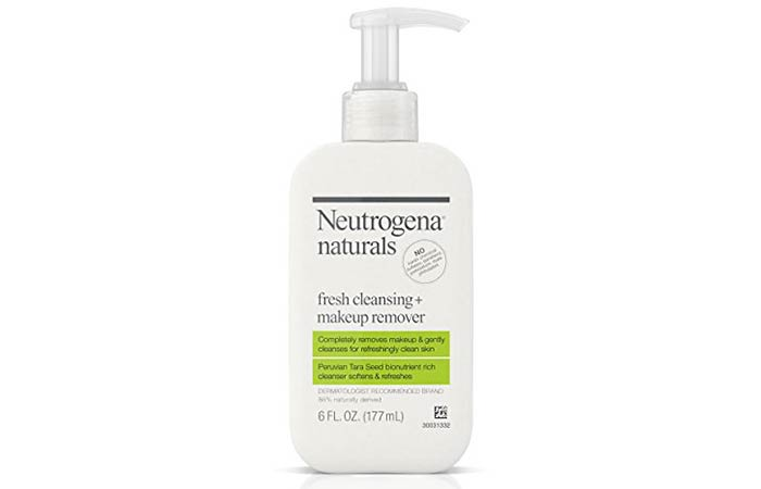 9. Neutrogena Natural Fresh Cleansing + Makeup Remover