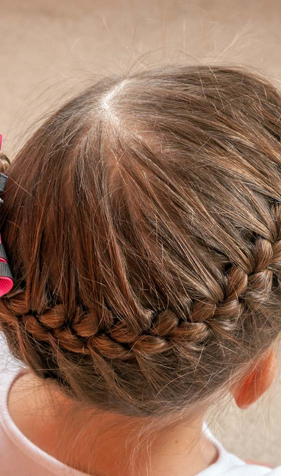 9.Top-French-Braided-Pony-Tail