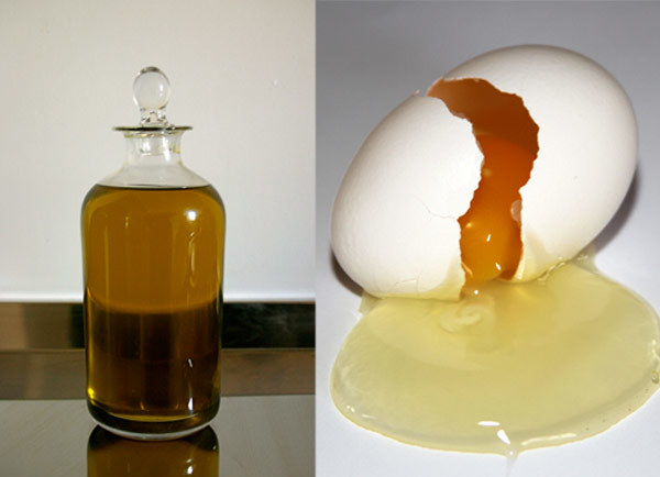 almond oil for frizzy hair