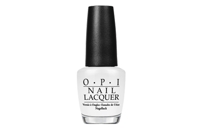 Best OPI Nail Polish - Alpine Snow Shade