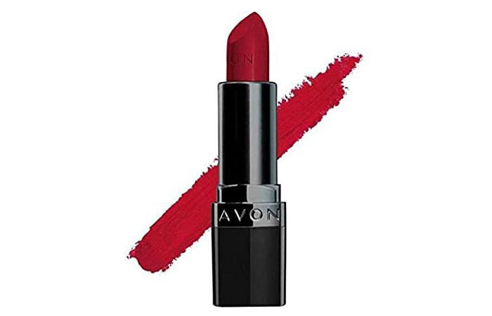 Avon True Color Perfectly Matte Lipstick – Red Supreme
