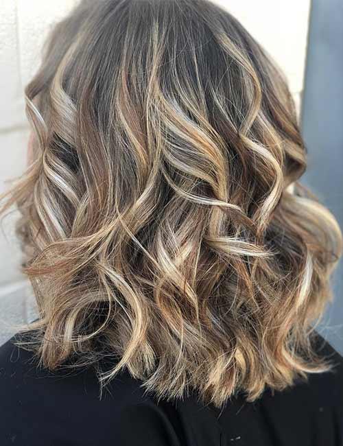 Balayage Curls