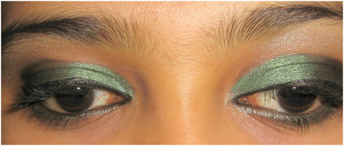 Bangladeshi Bridal Makeup - Step 7: Line Your Eyes