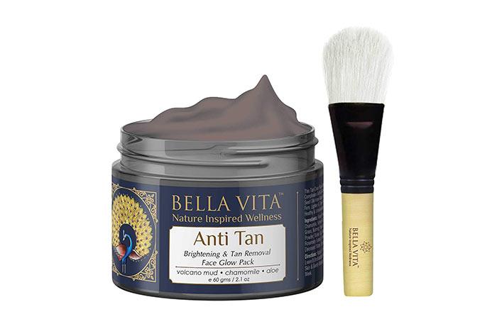 Bella Vita Anti Tan Brightening & Tan Removal Face Glow Pack
