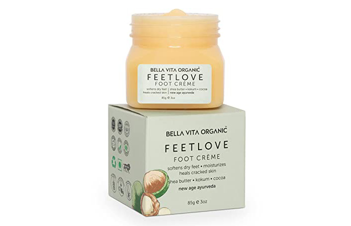 Bella Vita Organic Feet Love Foot Creme