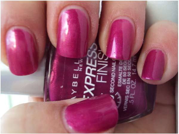 maybelline nail polish berry boucle