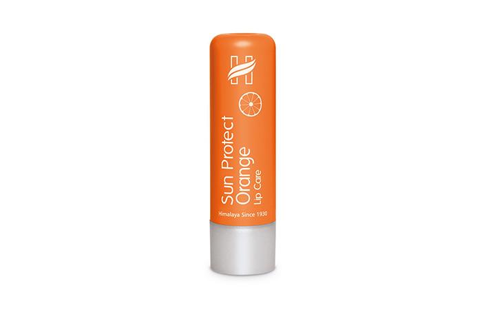 Best Lip Balm For Summer Himalaya Sun Protect Orange Lip Care