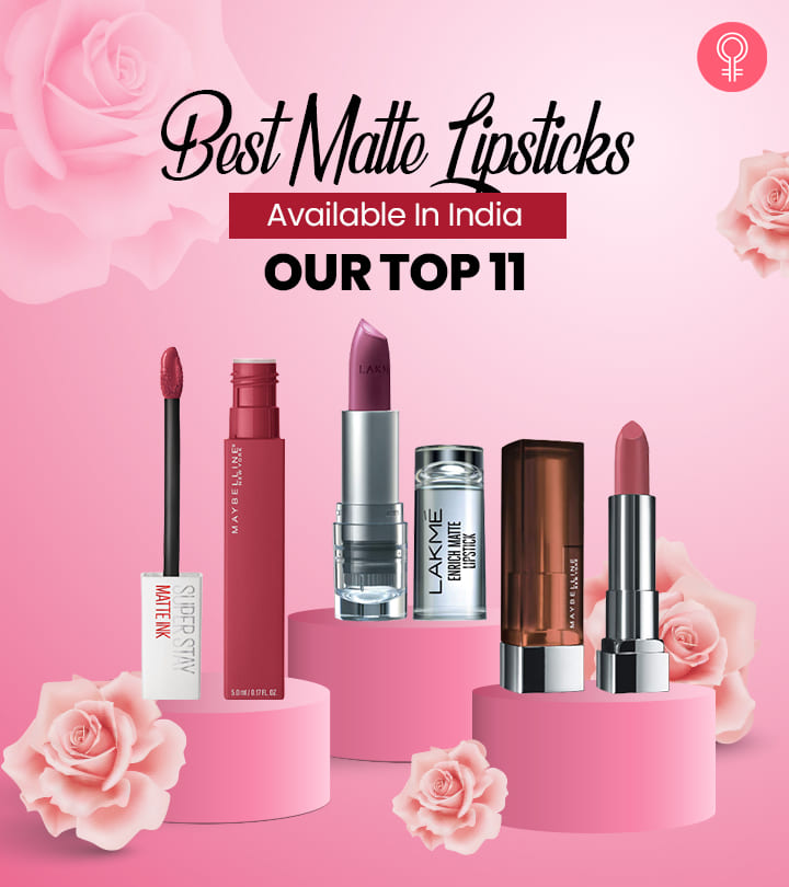 Best Matte Lipsticks Available In India – Our Top 11