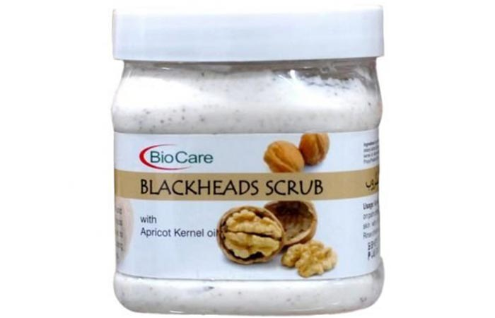 Biocare Blackheads Scrub - Scrubs To Get Rid Of Blackheads