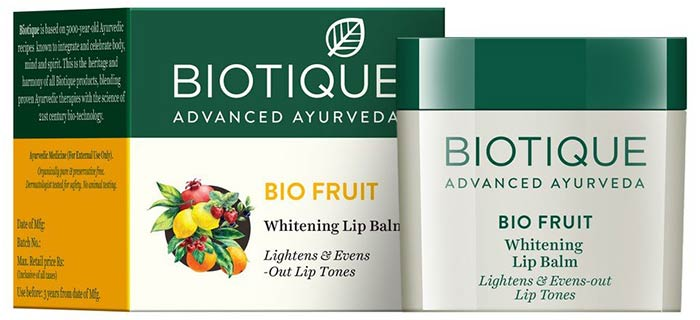 Biotique Bio Fruit Lightening Lip Balm