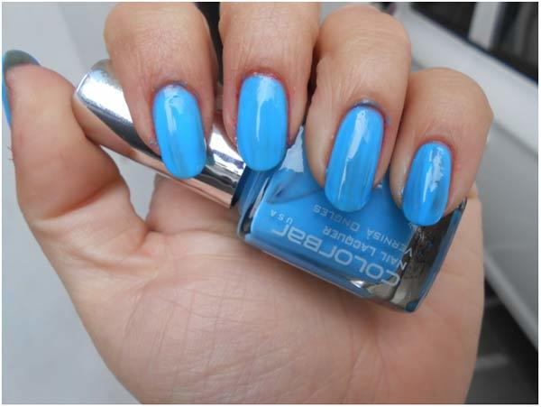 Blue lagoon Nail Polish