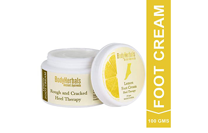 Body Herbals Rough And Cracked Heel Therapy - Lemon